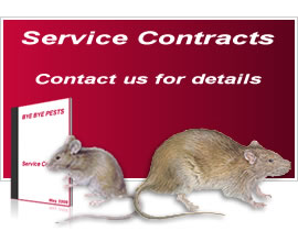 Bye Bye Pests - Pest Control Service Contracts